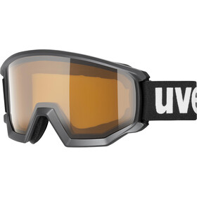 UVEX Athletic P Goggles black mat/polavision